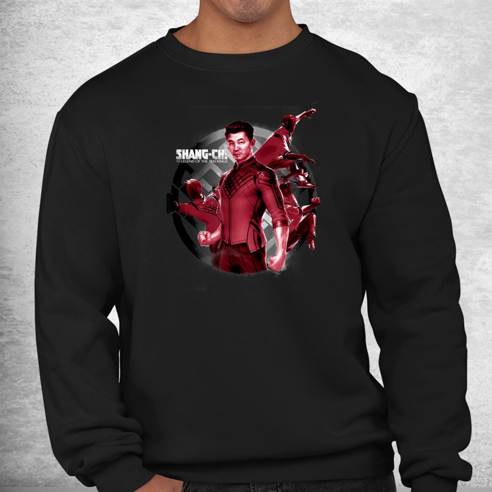 Shang Chi Action Poster Shirt