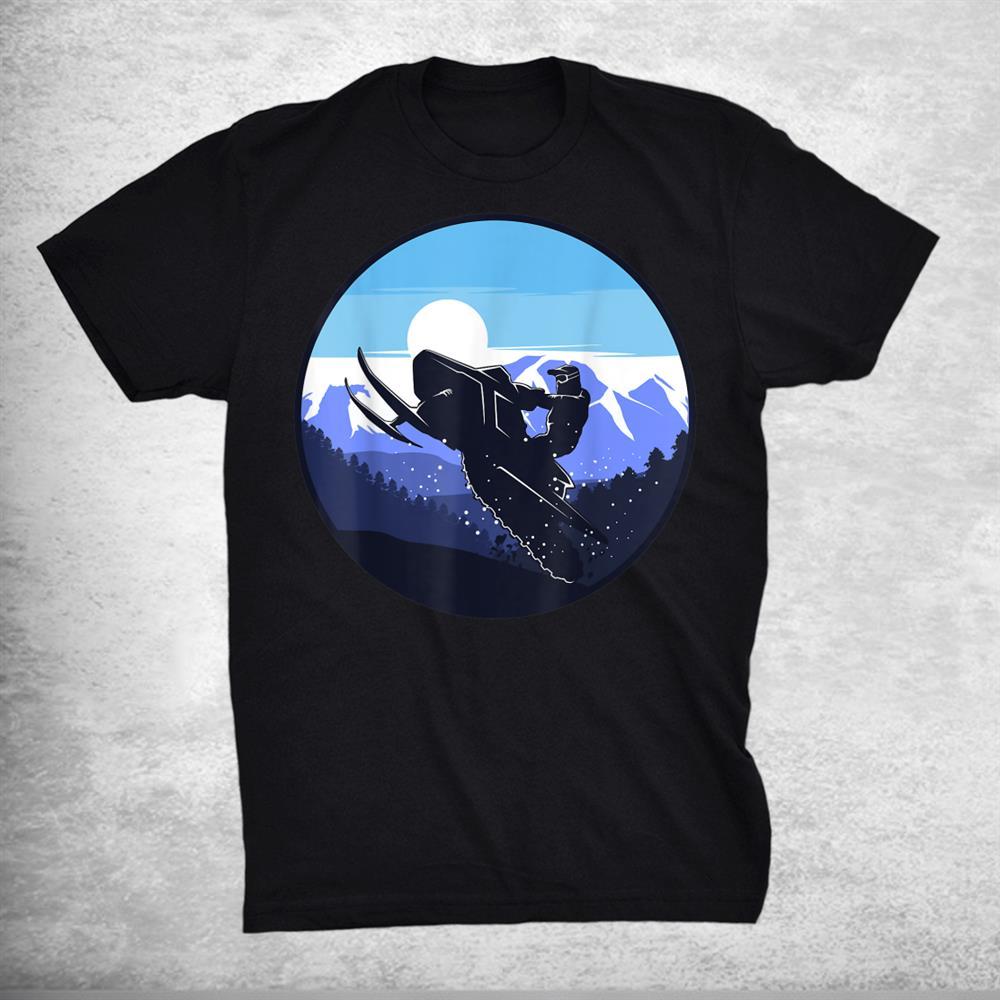Snowmobile Silhouette Shirt