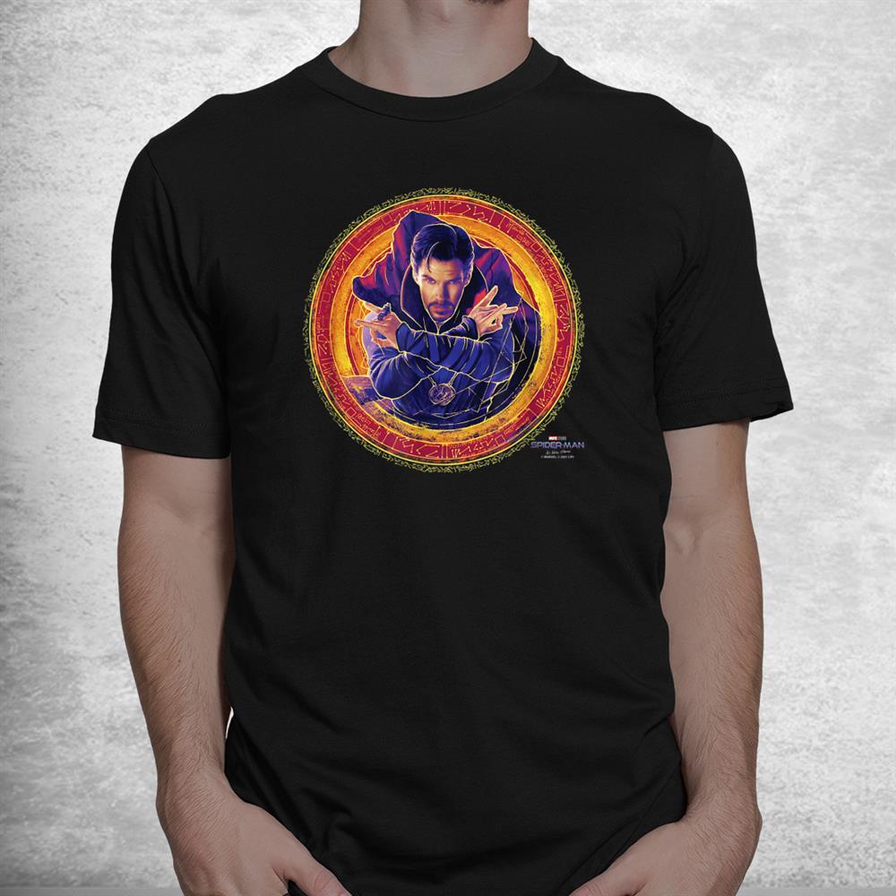 Spider Man No Way Home Doctor Strange Portal Poster Shirt