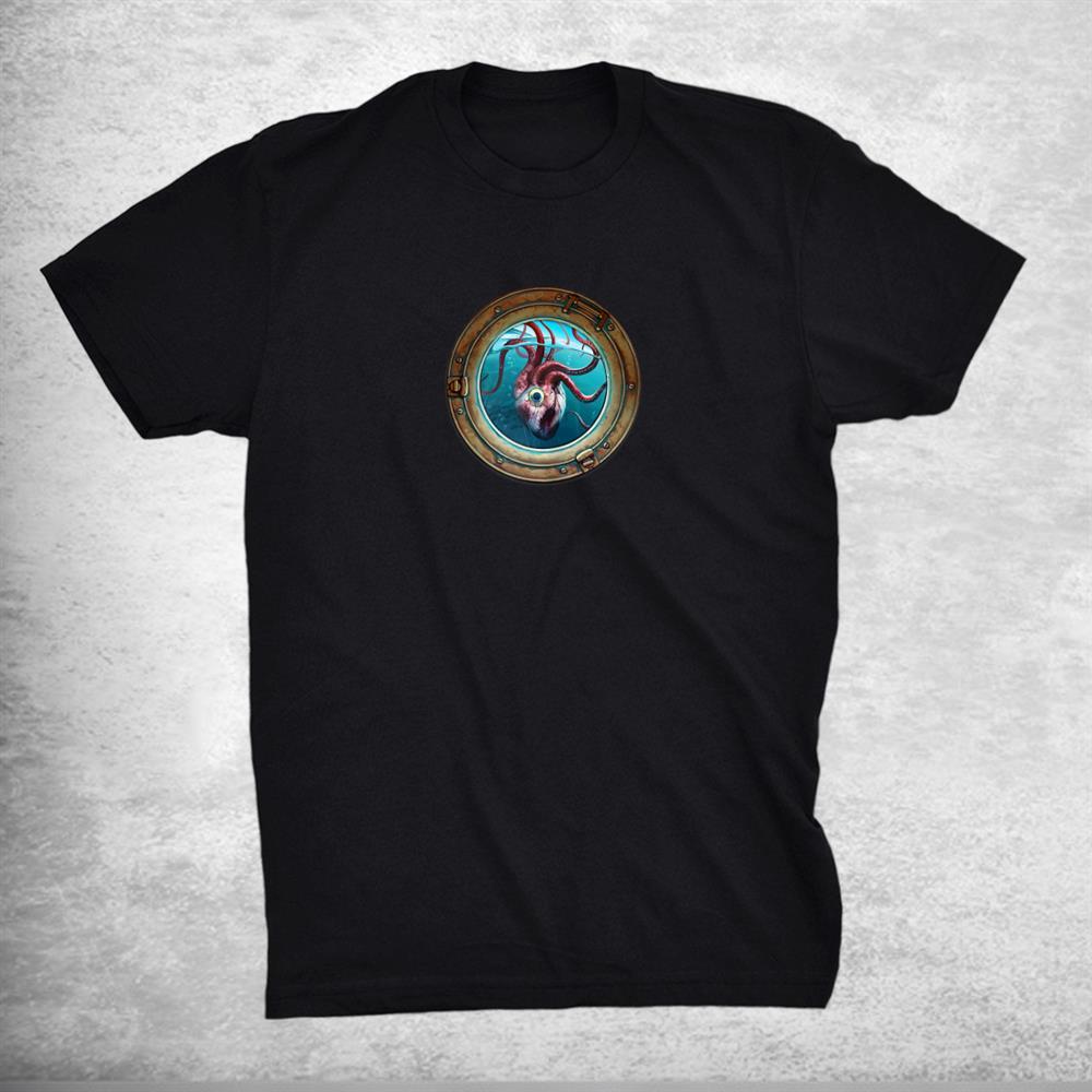 Squid Heart Creature Anatomy Shirt