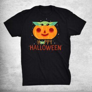 Star Wars The Mandalorian Grogu Happy Halloween Shirt