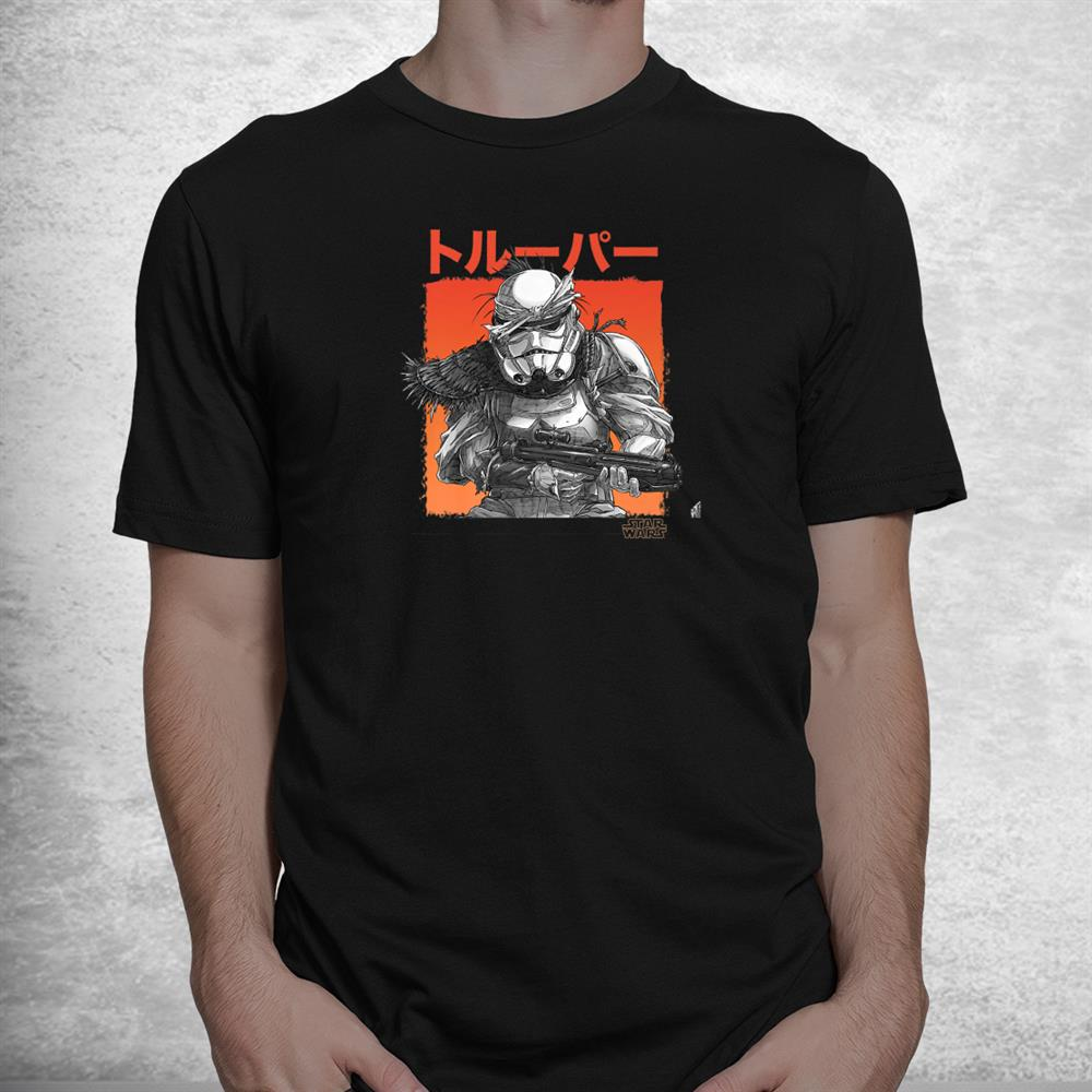 Star Wars Visions Grunge Stormtrooper Shirt
