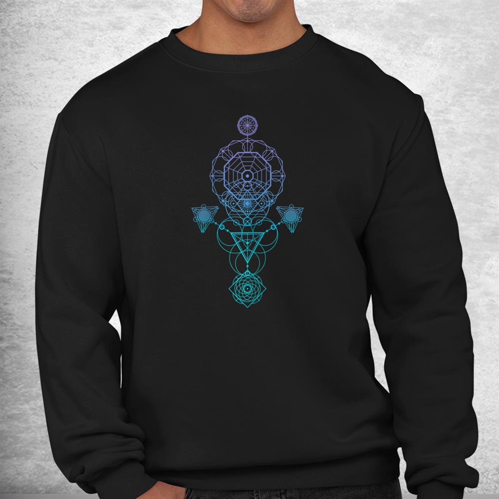 Starseed Activation Sacred Geometry Shirt