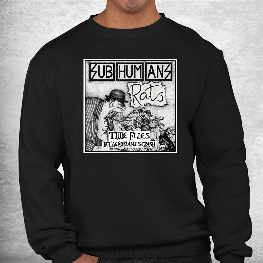 Subhumans Essential Band Music Costume Holiday Shirt