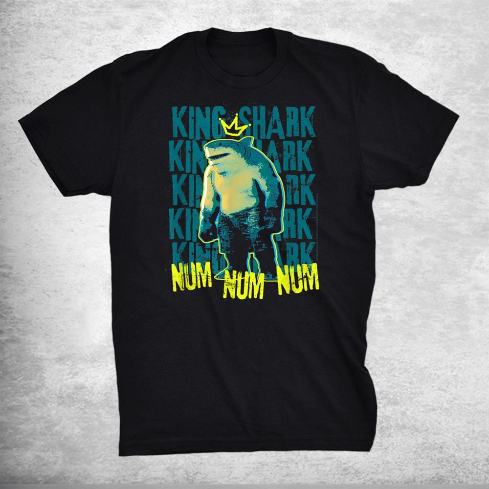 Suicide Squad King Shark Hero Num Num Shirt