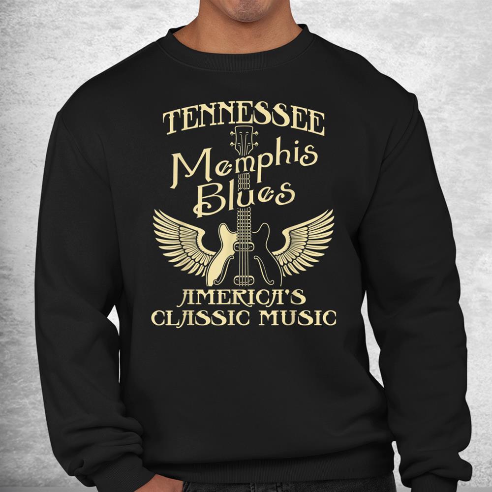 Tennessee Blues Americas Classic Music Musician Shirt