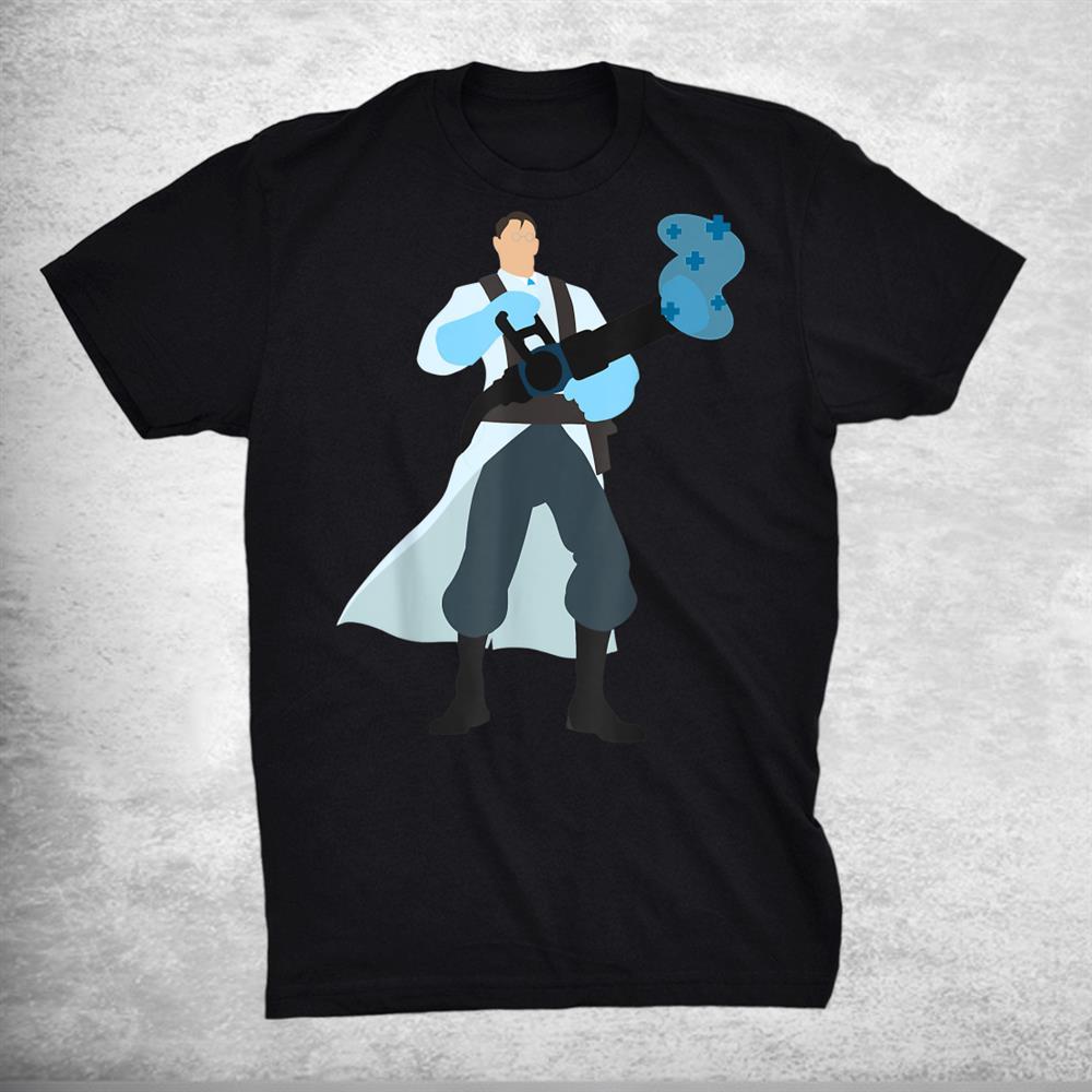 Tf2 Blu Funny Medics Shirt