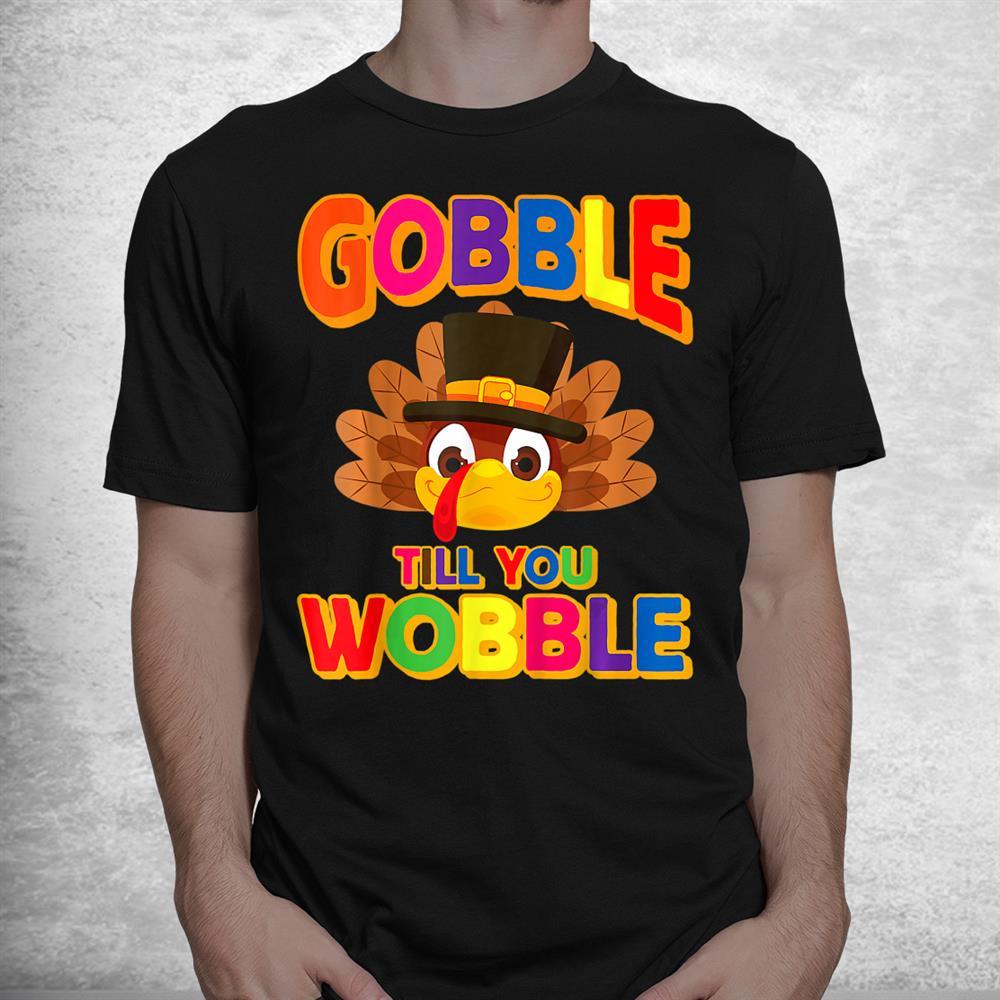 Thanksgiving Outfits Turkey Shirt