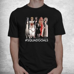 the halloween squad goals of famous character witch shirt 1