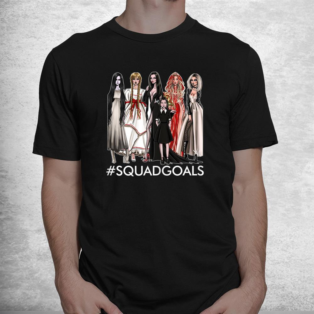 The Halloween Squad Goals Of Famous Character Witch Shirt