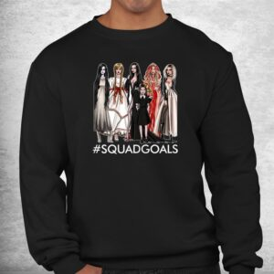 the halloween squad goals of famous character witch shirt 2