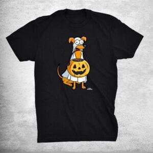 The Simpsons Santa's Little Helper Halloween Shirt