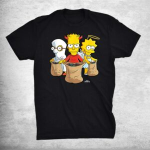 The Simpsons Trick Or Treat Treehouse Of Horror Halloween Shirt