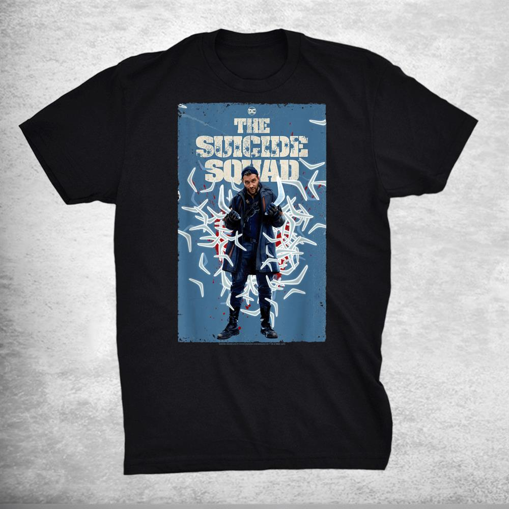 The Suicide Squad Captain Boomerang Poster Shirt