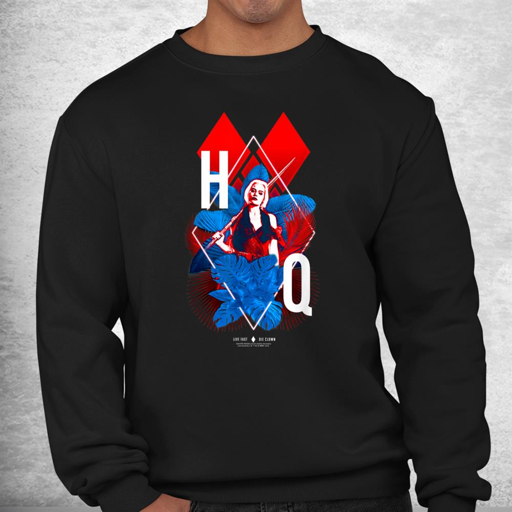 The Suicide Squad Harley Quinn Diamonds Shirt