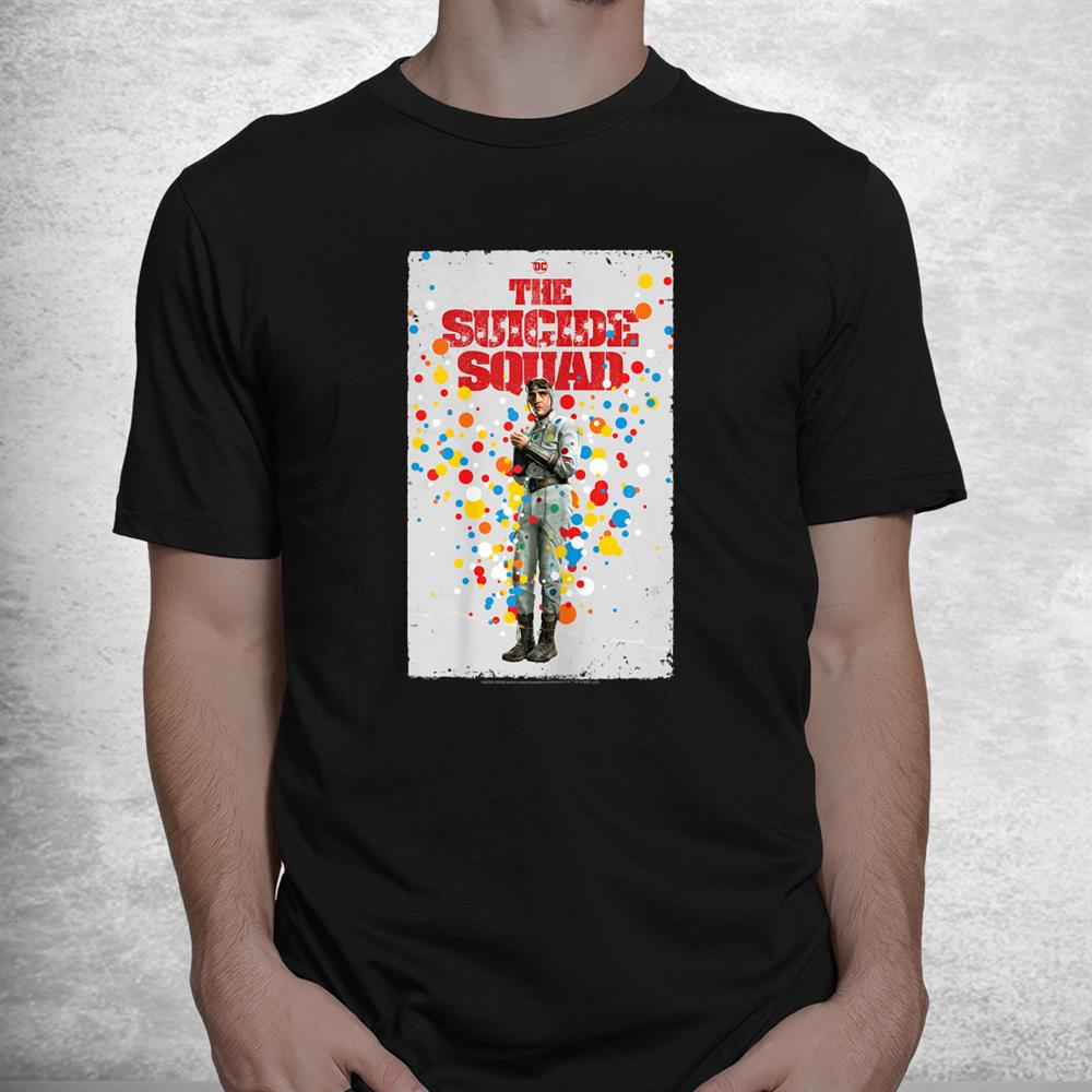 The Suicide Squad Polkadot Man Poster Shirt