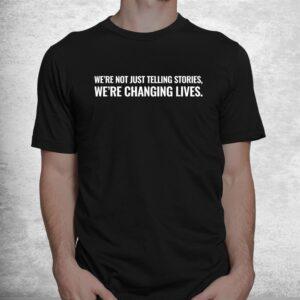 the text mann with studios shirt 1