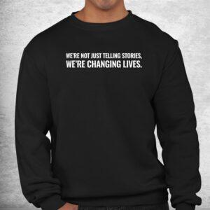 the text mann with studios shirt 2