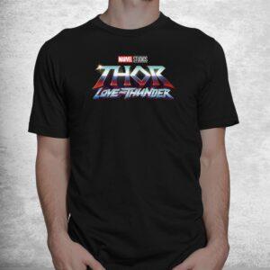 thor love and thunder logo shirt 1