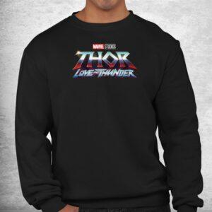 thor love and thunder logo shirt 2