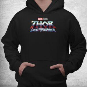 thor love and thunder logo shirt 3