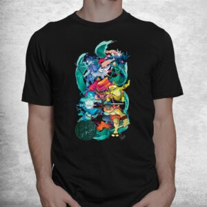 tmnt x lily stock collection group shot shirt 1
