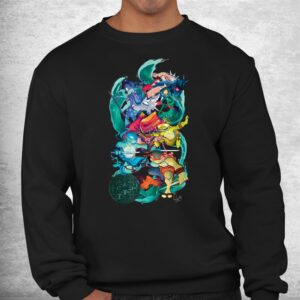 tmnt x lily stock collection group shot shirt 2