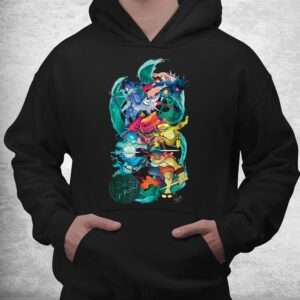 tmnt x lily stock collection group shot shirt 3