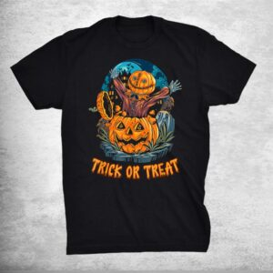 Trick Or Treat I Horror I Pumpkin Costume I Halloween Shirt