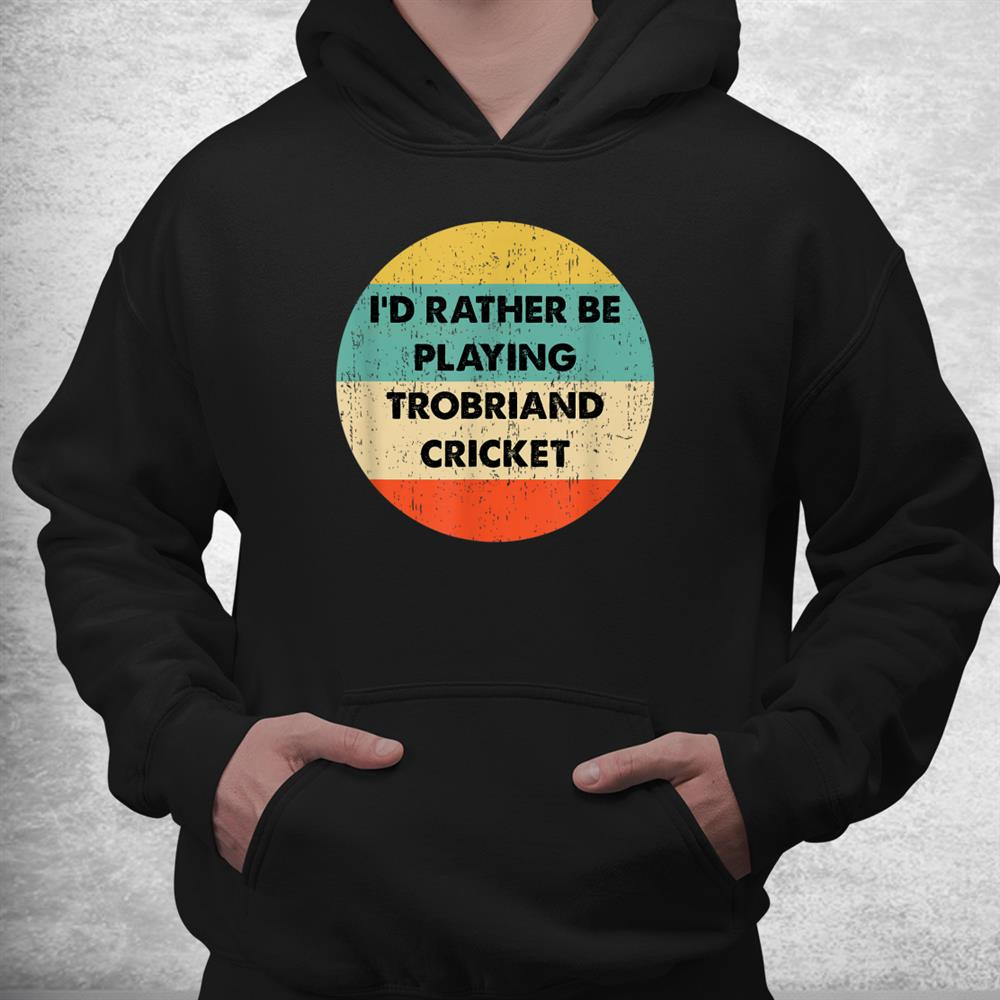 Trobriand Cricket Shirts Trobriand Cricket Shirt