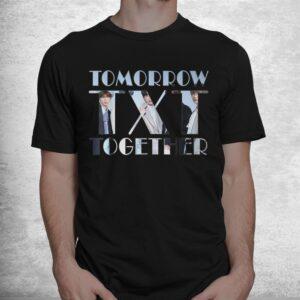 txt tomorrow together kpop fan shirt 1