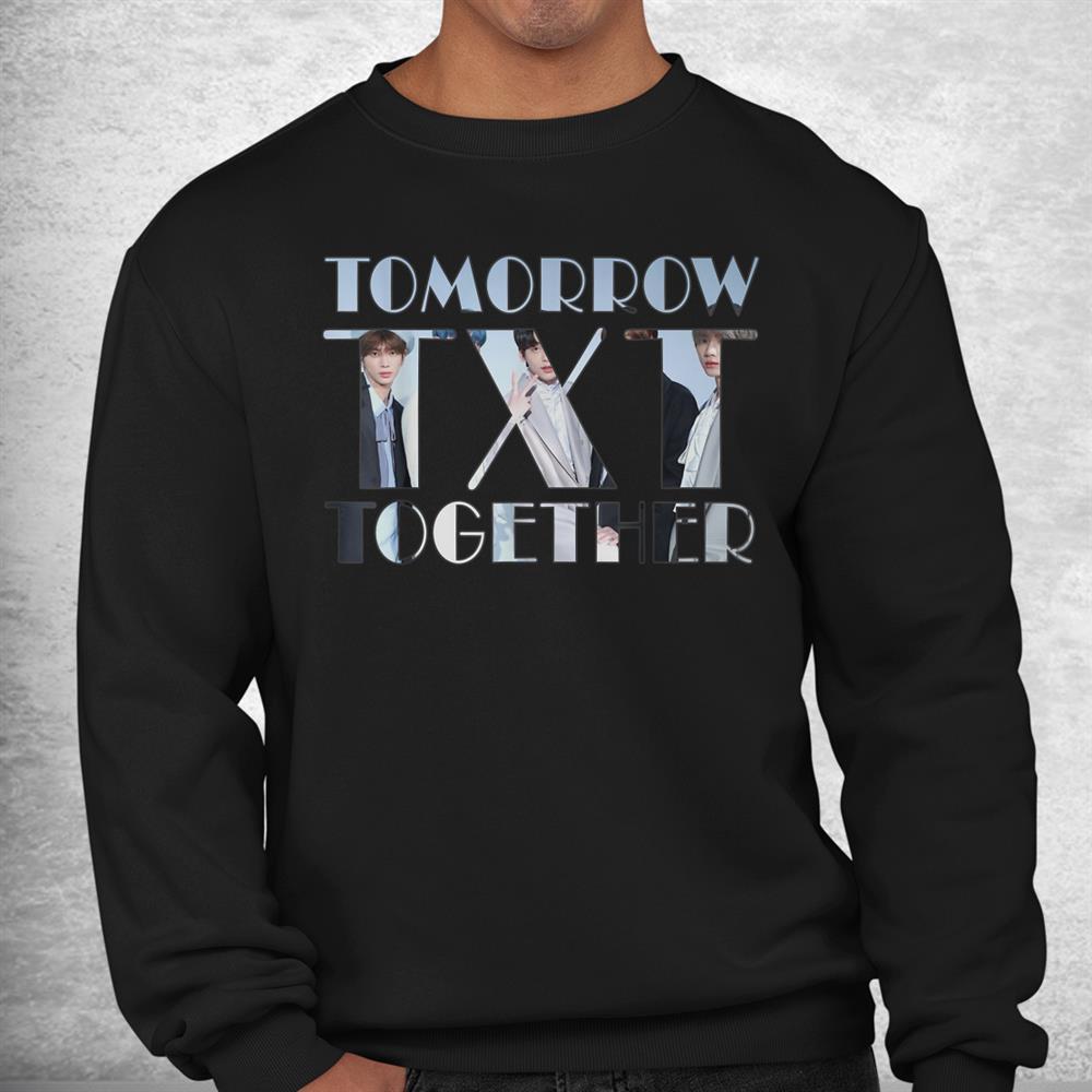 Txt Tomorrow Together Kpop Fan Shirt