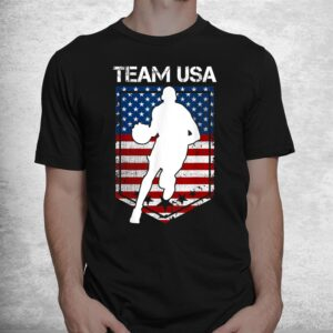 usa united states of america basketball team 2021 white logo shirt 1