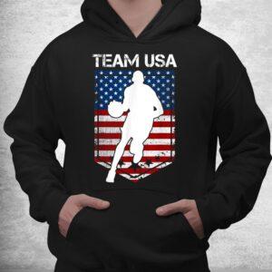 usa united states of america basketball team 2021 white logo shirt 3
