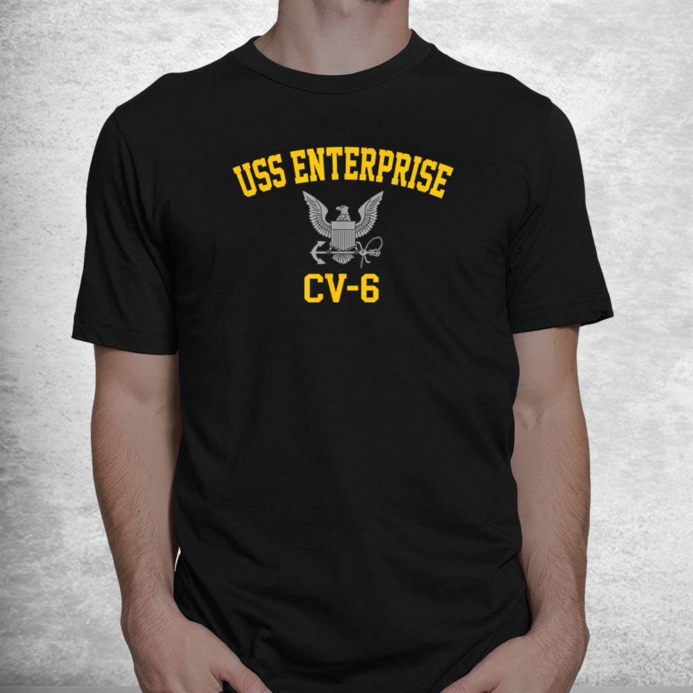 Uss Enterprise Cv 6 Shirt