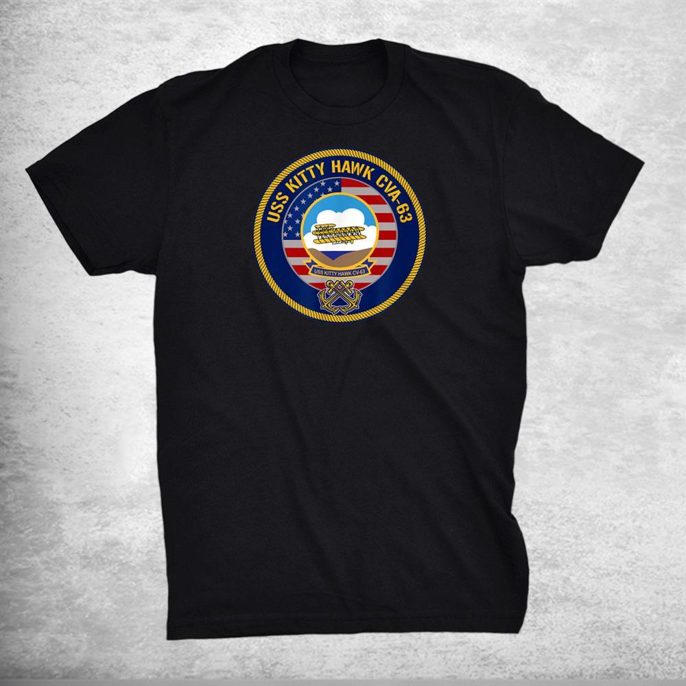 Uss Kitty Hawk Cva 63 Aircraft Carrier Shirt