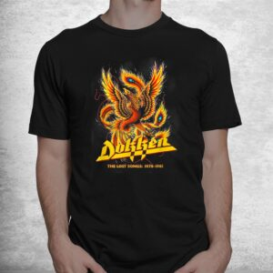 vintage dokkens love tooths and nails shirt 1