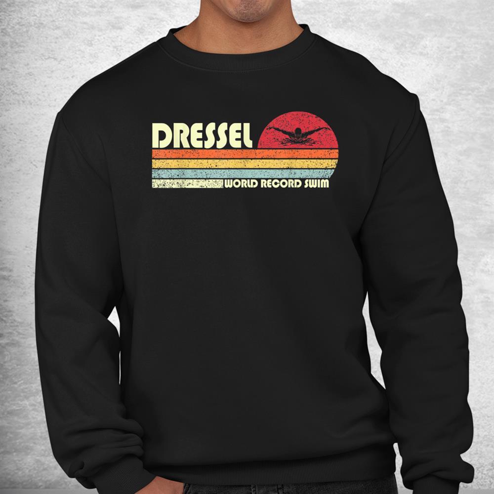 Vintage Dressel Us Swimming Team World Record Swim 2021 Shirt