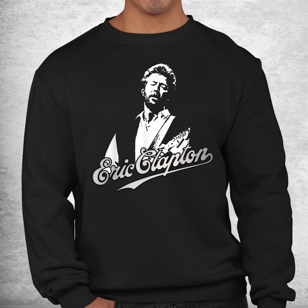 Vintage Erics Classic Arts Claptons Guitar Musician Legends Shirt