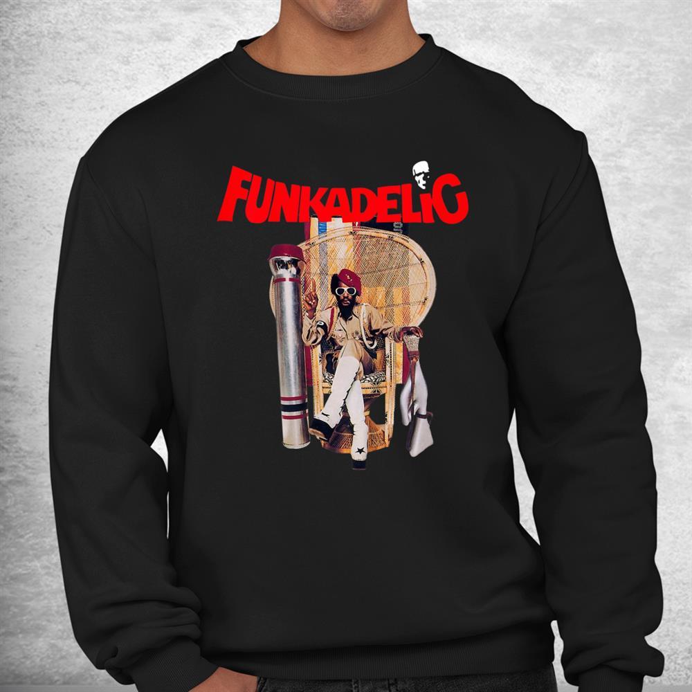 Vintage Funkadelics Music Band Vaporware Legend Live Forever Shirt