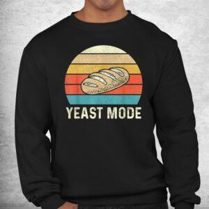 vintage retro yeast mode bread baking baker bakery sourdough shirt 2
