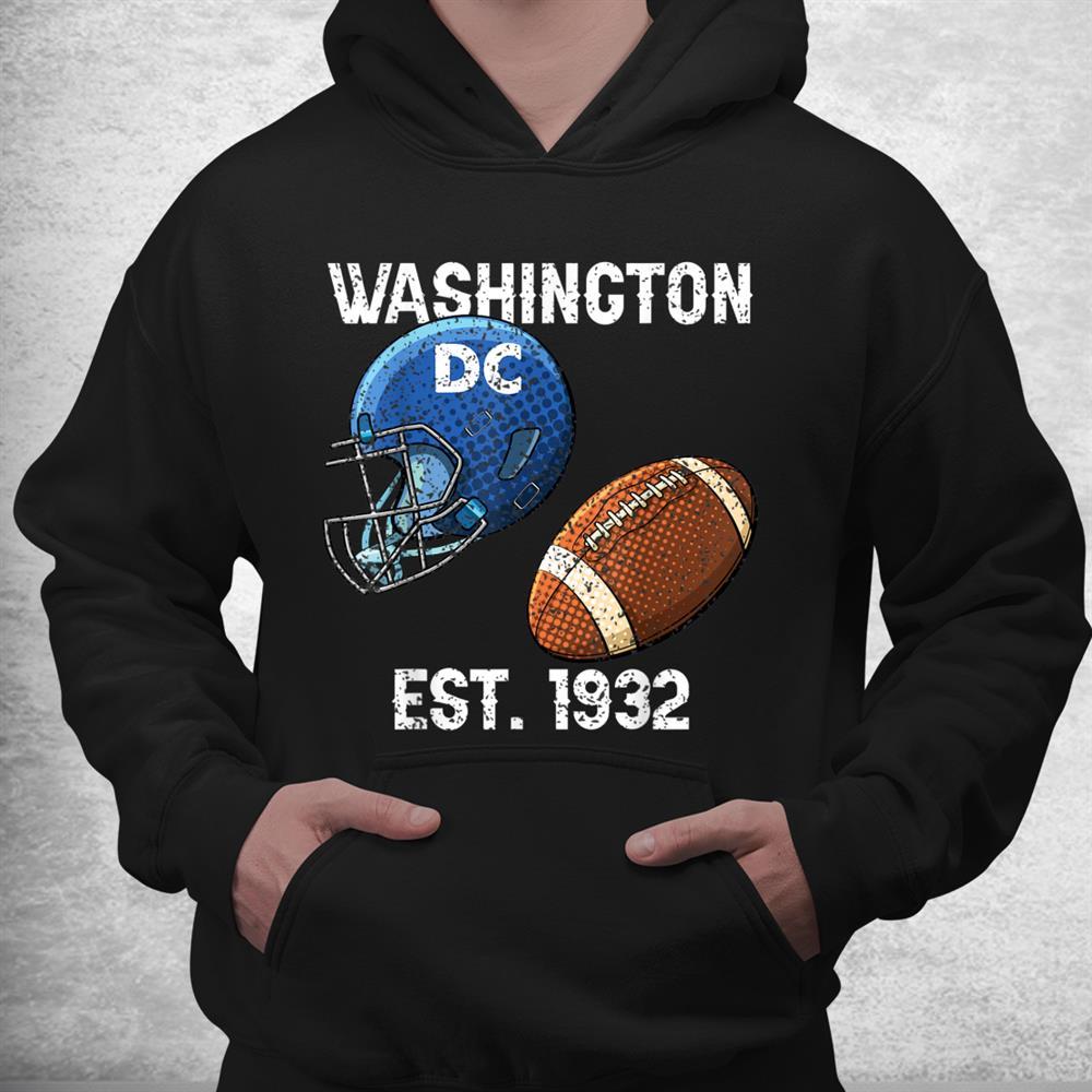 Vintage Washington Dc Football Gift Sports Team 1932 Pride Shirt