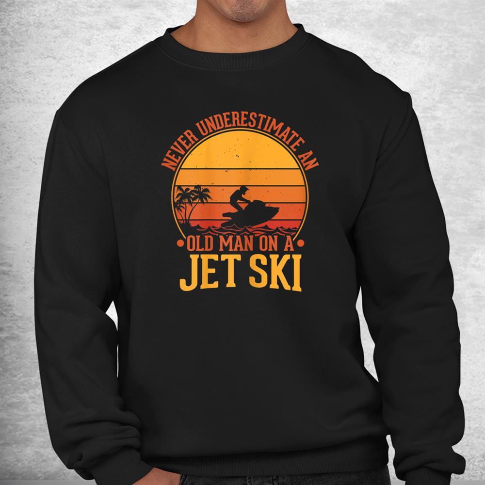 Vintage Water Jet Ski Fun Beach Retro Jet Ski Shirt