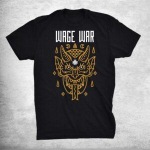 Wages Classic Arts Design Wars Music Band Shirt