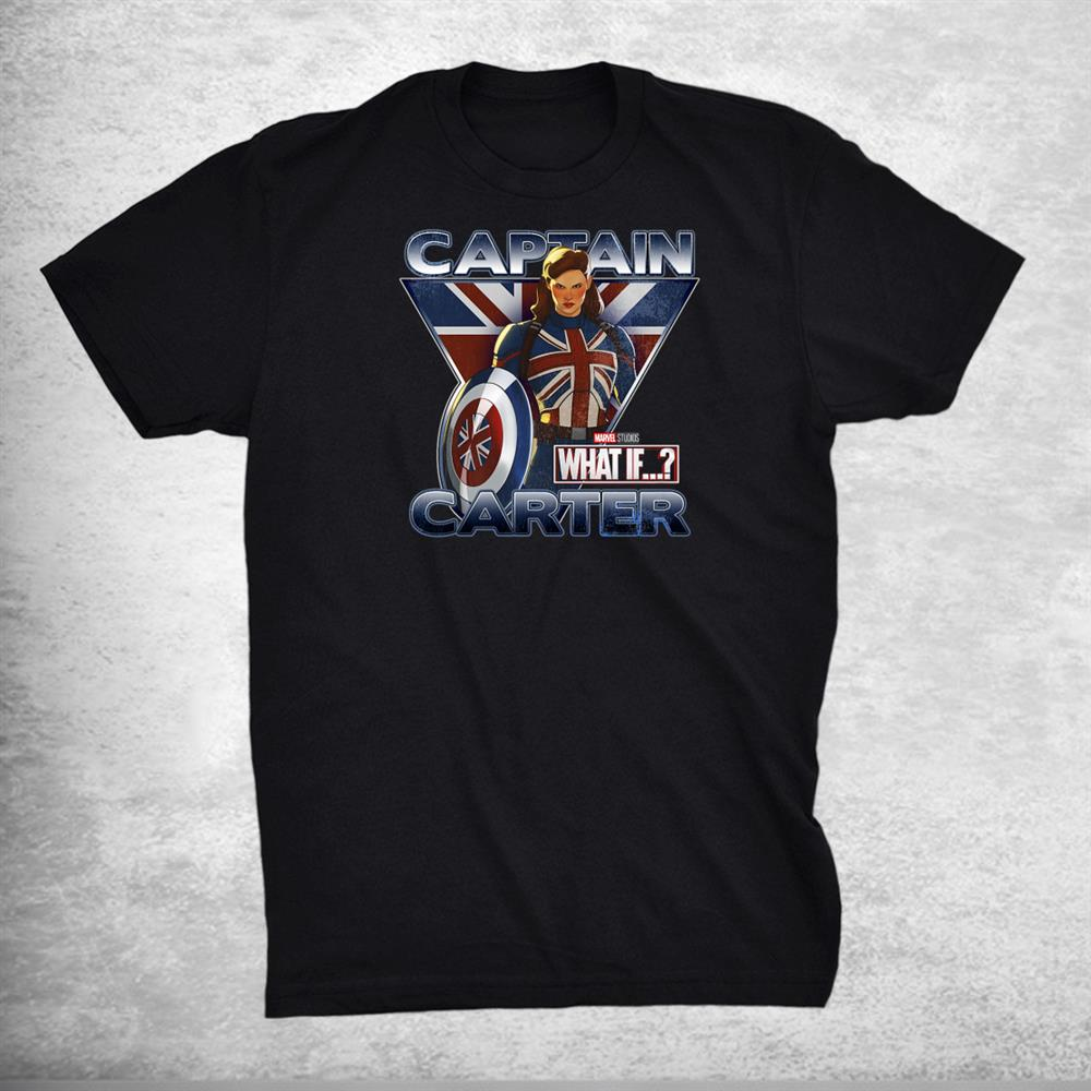 What If Captain Carter British Poster Shirt