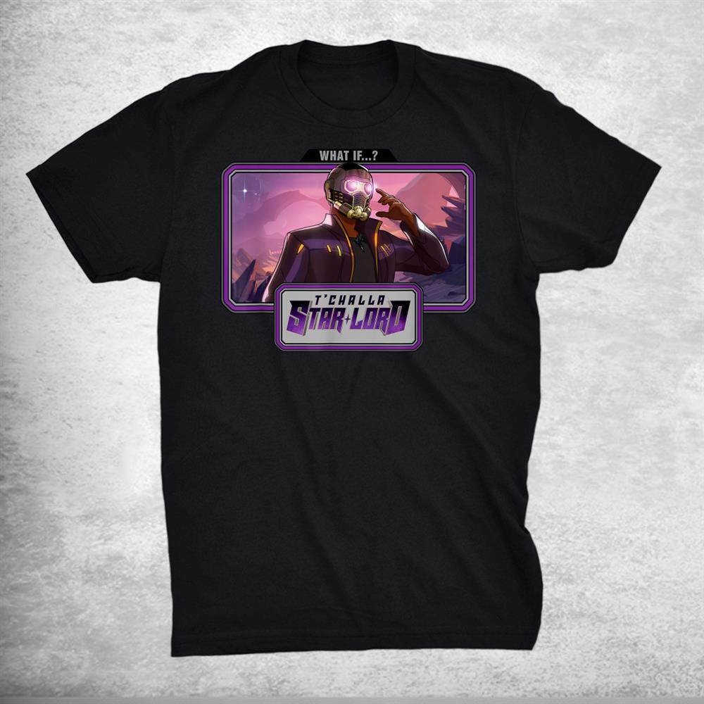 What If T'challa Star Lord Landscape Shirt
