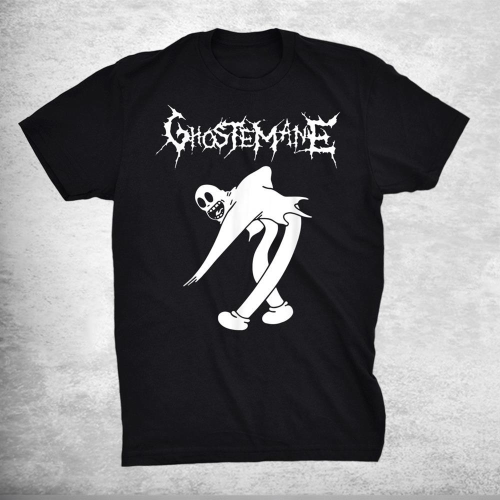 White And Black Ghostemanes American Singer Shirt