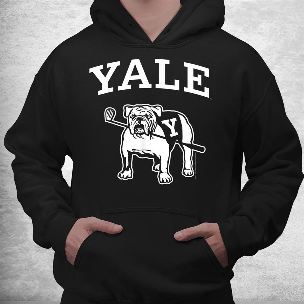 Yale University Handsome Dan Bulldog College Mascot Shirt
