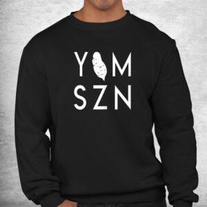 yam szn 6 45 funny hamstring workout its yam season shirt 2