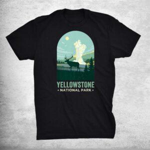 Yellowstone Shirt Wyoming Vintage Yellowstone National Park Shirt